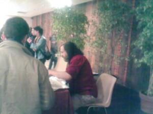Richard Stallman qui vend ses babioles